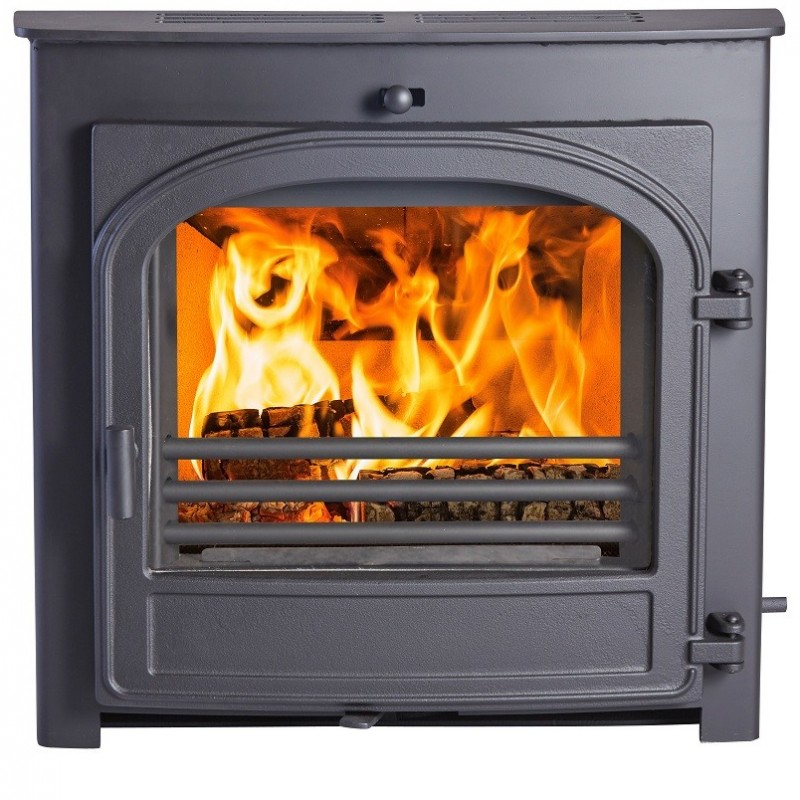 Hunter Telford 8 Inset  (6kW) Wood Burner and Multi Fuel