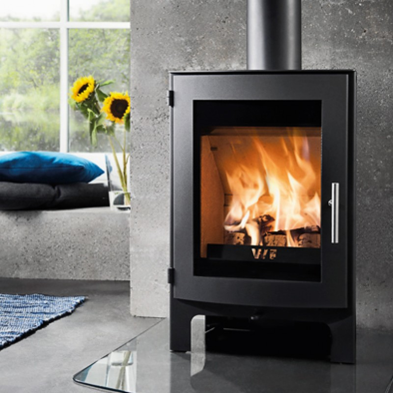 Westfire Uniq 17  5 kW. Wood Burners