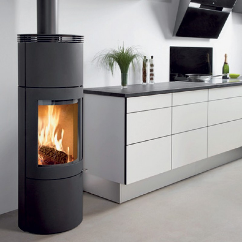 Westfire Uniq 28  4.4kW. Wood Burners