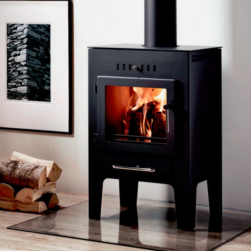 Westfire Uniq 5  4.7 kW. Wood Burners